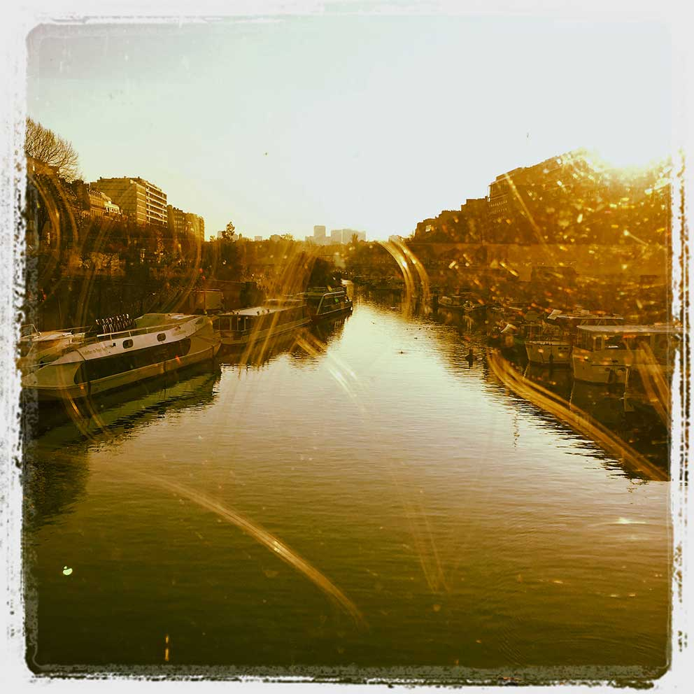 Today's Picture. Bassin de l'arsenal paris